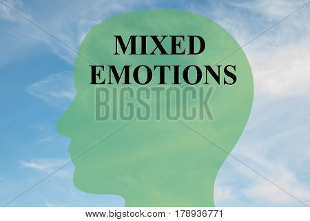 Mixed Emotions - Mental Concept