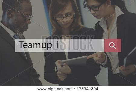 Business Teamwork Team up Strategy Planning