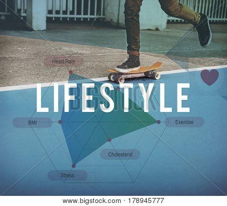 Lifestyle hobby activity skateboard