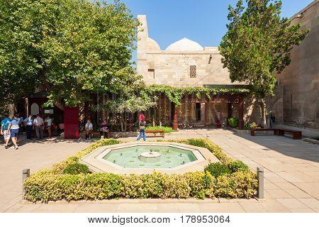 Shirvanshahs Palace In Baku