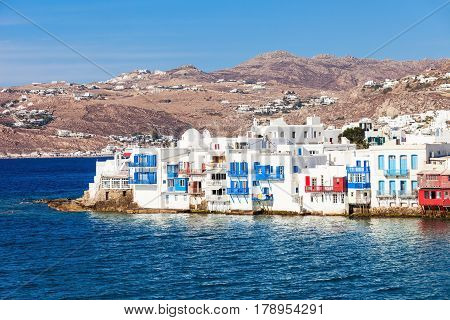 Little Venice Neighbourhood, Mykonos