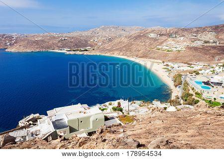 Mykonos Island Beach, Greece
