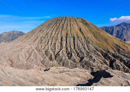 Mount Batok near Malang on Java Island Indonesia