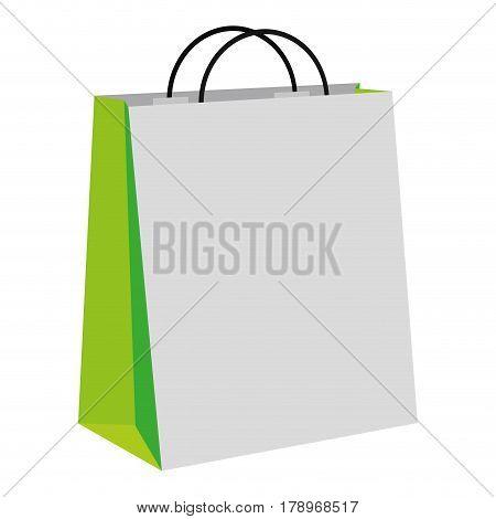Isolated Shopping Bag