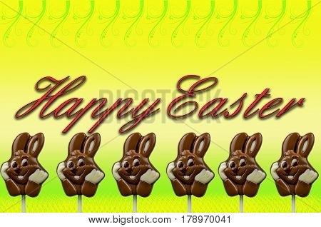 Colorful easter stuff for backgrounds. Ready to add text