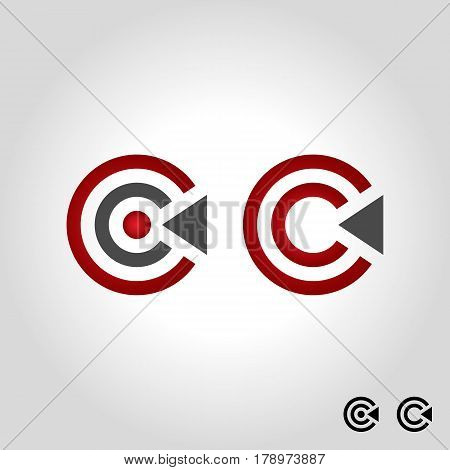 letter c logo icon and shape vector illustration