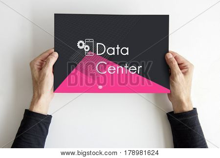 Database System Computer Technology Development Digital Icons Graphic