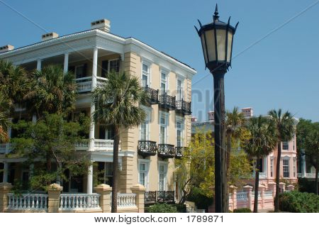 Charleston Homes On The Battery