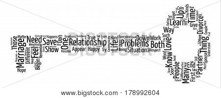 Save Your Marriage Before It s Too Late Word Cloud Concept Text Background