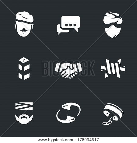 Soldier, negotiation, criminal, border, deal, barbed wire, wounded, turnover, slavery.