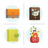 Flat money wallet icon making purchase cash business currency finance payment and purse savings bank commerce dollar economy vector illustration. Success shopping symbol. poster