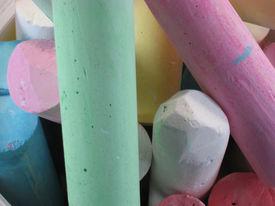 Colored Pavement Chalk