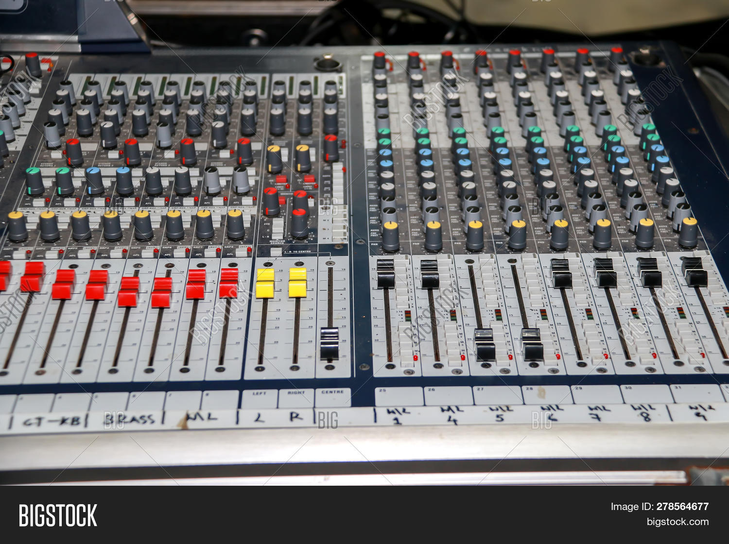 Sound Mixer Equalizer Image & Photo (Free Trial) | Bigstock