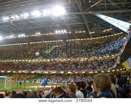 Millenium Stadium Play Off Final Leeds V Watford