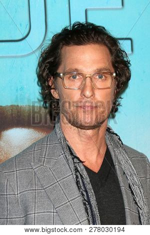 LOS ANGELES - JAN 10:  Matthew McConaughey at the
