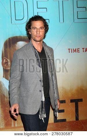LOS ANGELES - JAN 10:  Matthew McConaughey at the