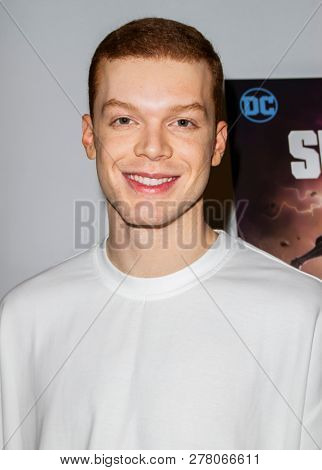 Cameron Monaghan attends the world premiere of