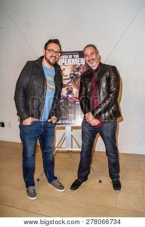 Tim Sheridan and Jim Krieg attend the world premiere of