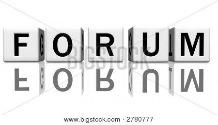 Dice White Forum