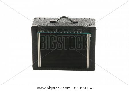 Classic electric guitar amplifier