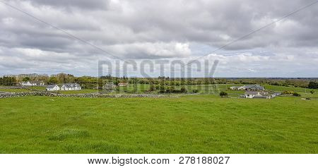 Idyllic Rural Scenery In Western Ireland At Spring Time