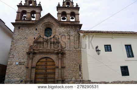 Around The Town Of Cusco In Peru