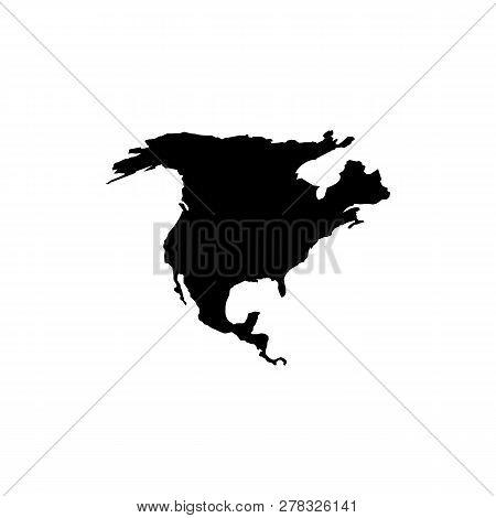 North America Map Vector Photo Free Trial Bigstock
