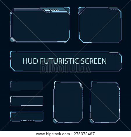 Futuristic Touch Vector Photo Free Trial Bigstock