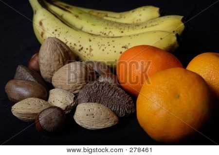 Banana, Oranges And Mixed Nuts
