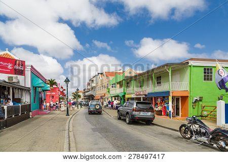 Kralendijk, Bonaire- December 18, 2015: Being South Of The Hurricane Belt And Because Of The Constan