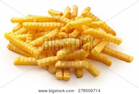 Deep Fried French Fries With Ripple
