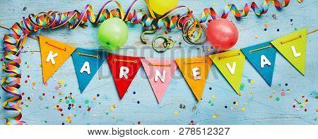 Karneval - Carnival - Festive Party Background