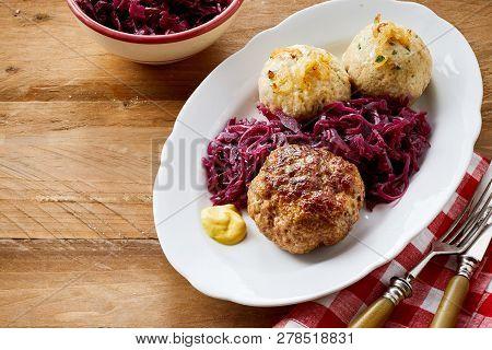 German Meatball And Dumplings