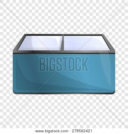 Commercial Freezer Icon. Cartoon Of Commercial Freezer Icon For Web Design For Web Design