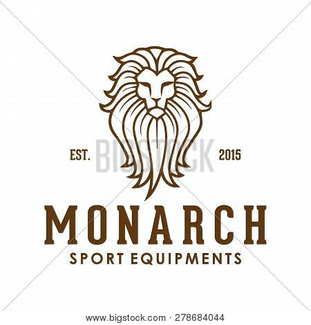 Lion Logo. Lion Head Vector. Lion Head Logo. Lion Icon. Lion King. Animal Logo. Vector Logo Template