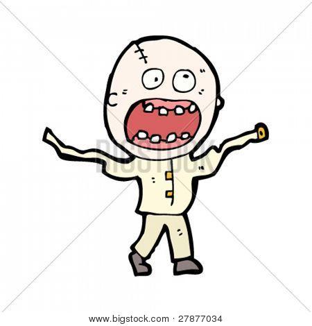 doodle madman cartoon
