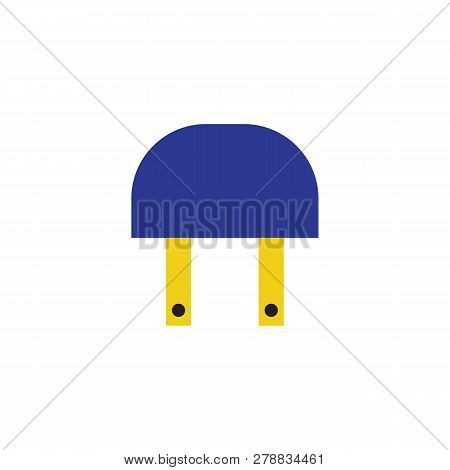 Relay Industy Flat Icon Vector Design Illustration.