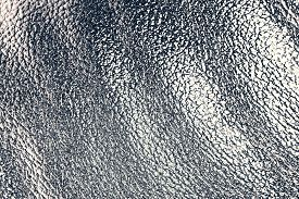 Silver Metal Abstract Waves As A  Background