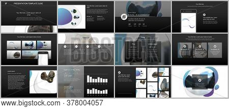 Vector Template For Website Design, Presentations, Portfolio. Templates For Presentation Slide, Flye