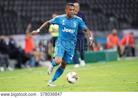 Udine (italy) - 23th July 2020 -  Douglas Costa  Of Juventus Fc In Action During The Serie A Match