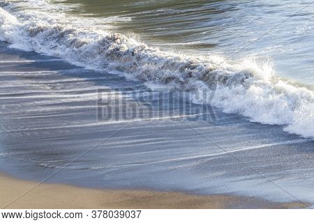 Close Up Of The Waves