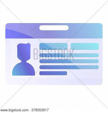 Personal Information Icon. Cartoon Of Personal Information Vector Icon For Web Design Isolated On Wh