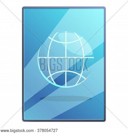 Tablet Remote Access Icon. Cartoon Of Tablet Remote Access Vector Icon For Web Design Isolated On Wh