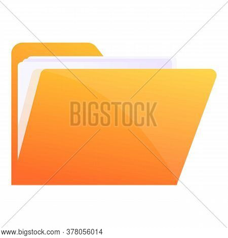 Storage Documents File Icon. Cartoon Of Storage Documents File Vector Icon For Web Design Isolated O