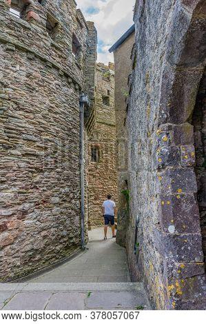 26 July 2018 - Dartmouth, Devon, Uk:dartmouth Castle On The Estuary Of The River Dart, Devon. The Ca
