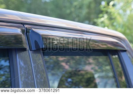 Deflectors For Side Windows Of The Car.car Accessory. Additional Equipment.