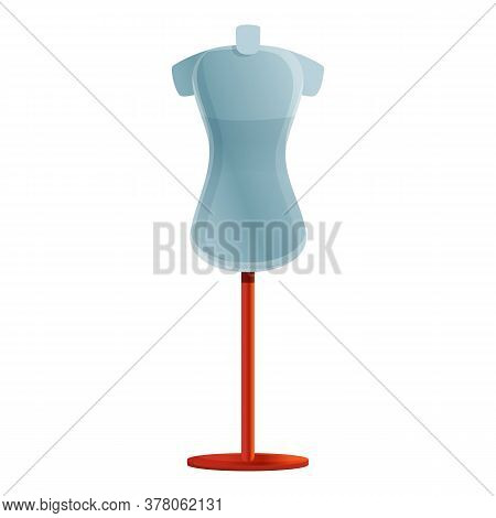 Dressing Room Mannequin Icon. Cartoon Of Dressing Room Mannequin Vector Icon For Web Design Isolated