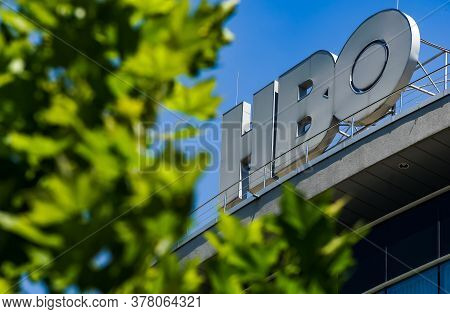 Bucharest, Romania -  June 28, 2020: A Logo Of Hbo, American Premium Cable And Satellite Television