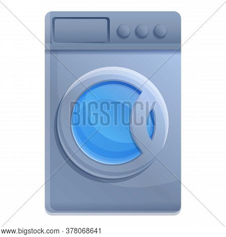 Tumble Dry Icon. Cartoon Of Tumble Dry Vector Icon For Web Design Isolated On White Background