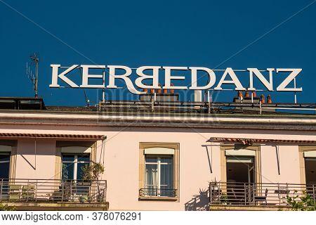 Kerbedanz Company In Geneva In Switzerland - City Of Geneva, Switzerland - July 8, 2020